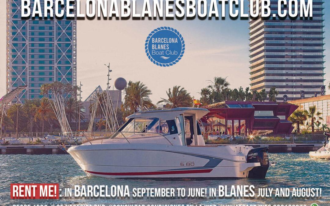 Barche in affitto Barcellona Blanes Boat Club. Noleggia una barca.